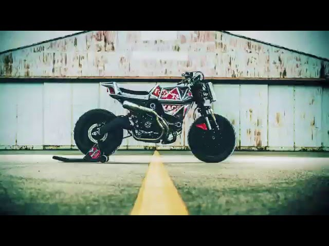 Vibrazioni Art Design  Scrambler Ducati Flamingo