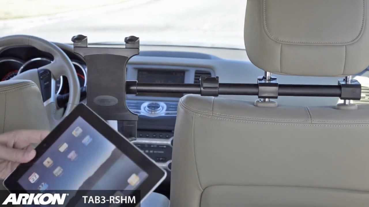 Vova New Adjule Car Seat Headrest Mount Holder For Ipad Galaxy Tablet 7 11