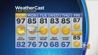 New York Weather: CBS2 7/20 Weekend Forecast at 6PM