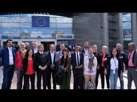 Une journée avec l'intergroupe des parlementaires insoumis