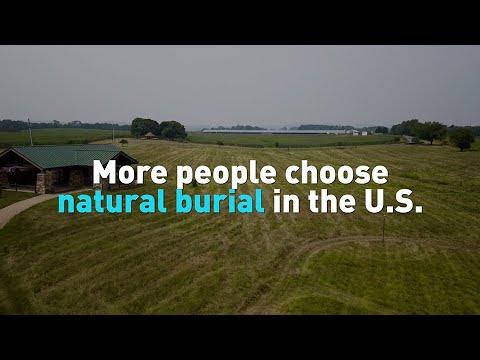 More people choose natural burial in the U.S.