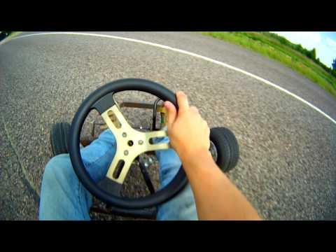 Самодельный картинг своими руками Home made gokart DIY first ride