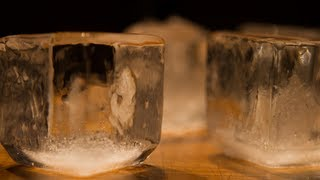 How to Make Clear Ice Cubes Using Distilled Water