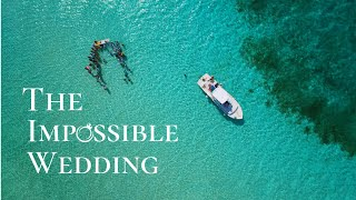 The Impossible Wedding - Bride gets married in the middle of the ocean - Cozumel Mexico