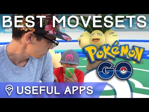 HOW TO FIND THE BEST MOVES FOR EVERY POKÉMON IN POKÉMON GO