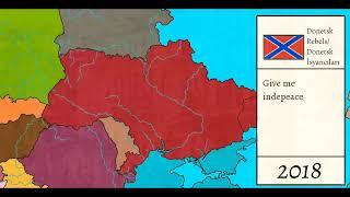[War Simulation]Ukraine Civil war || Günümüzde ukraynada iç Savaş çıksaydı?