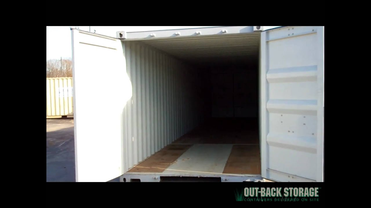 40ft Shipping Container for Sale YouTube