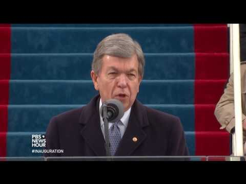 Sen. Roy Blunt delivers opening remarks for Inauguration Day 2017