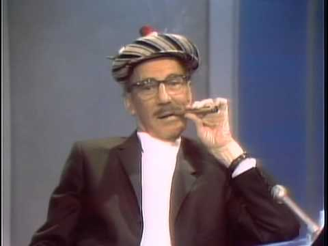 Groucho Marx Dick Cavett 1969