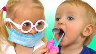 Dentist Song и другие детские песни | Песни для детей от Кати и Димы