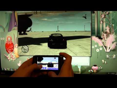 Playing GTA IV on Nokia N8