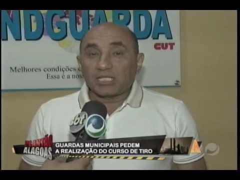 Guardas municipais pedem a realização do curso de tiro