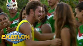 Exatlon Romania(09.11.)-Momente romantice intre Iulian si Ana Gonzalez! Ce cadou surpriza i-a facut?