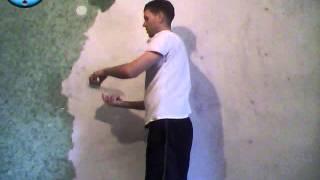 Жидкие обои этапы нанесения на стену