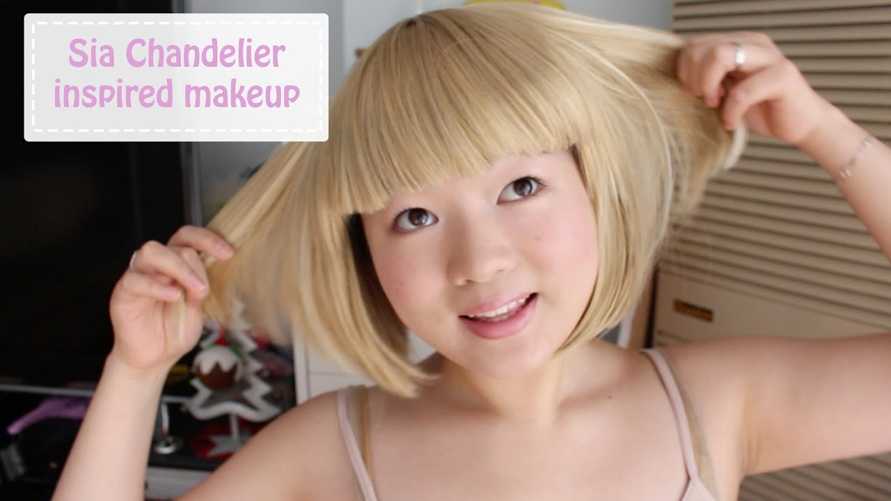 Sia chandelier maddie ziegler inspired makeup tutorial youtube aloadofball Choice Image