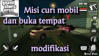 MISI MENCURI MOBIL  (stealing car ) - Gta San Andreas Android