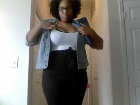 641cb0a76a6 Plus Size Outfit of the Night 10 22 2011 - YouTube