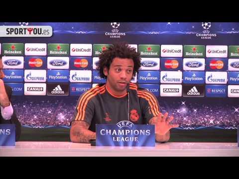 Marcelo se enfada con la prensa: 'Queréis crear cosas que no hay'