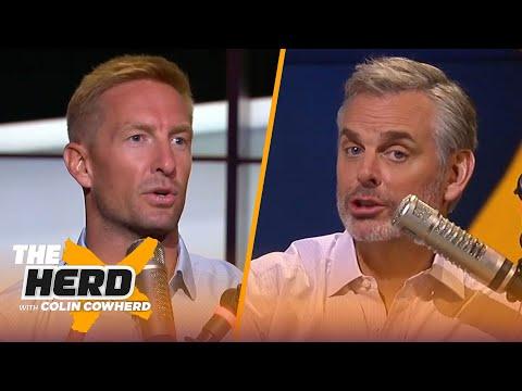 Joel Klatt on whether Trevor Lawrence is the best prospect ever, talks Justin Fields | THE HERD