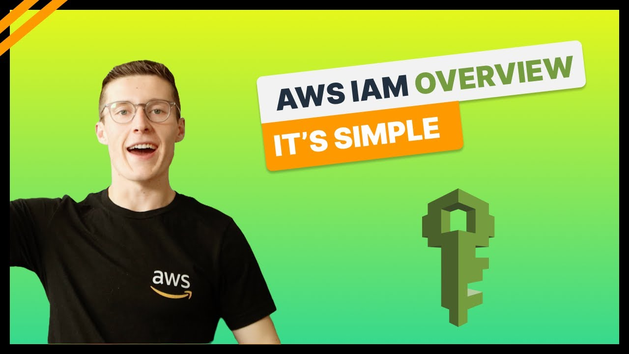 AWS IAM Overview - It's Surprisingly Simple - Users vs Roles