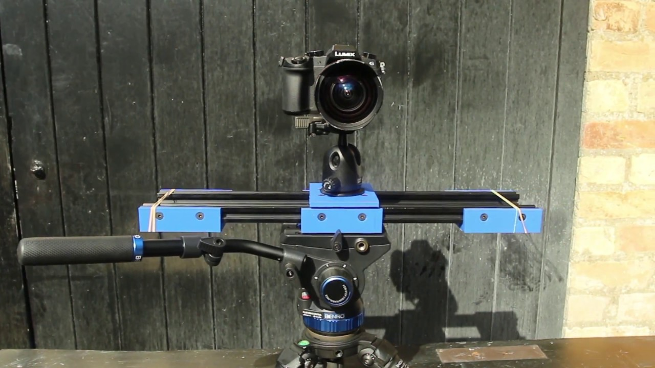 how to build a camera slider
