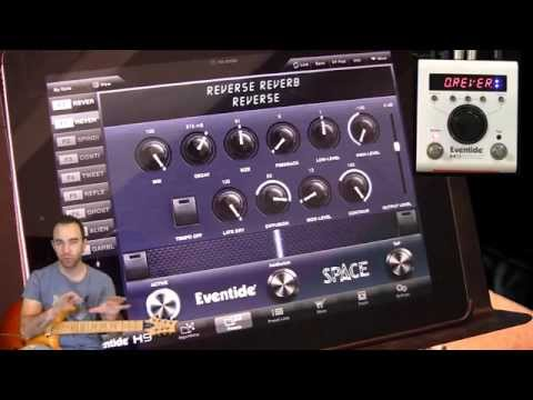 Dave Weiner demonstrates the Eventide H9 Max