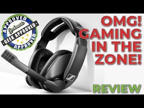 Sennheiser GSP 370 Wireless Gaming Headset Review