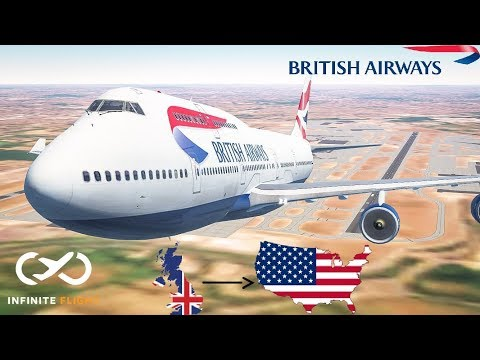 |Long Haul| London to Miami || British Airways; Boeing 747 *Expert Server*