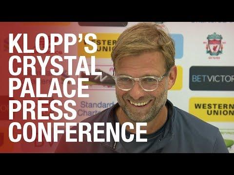 Transfers update and LFC injury latest | Jürgen Klopp's Crystal Palace press conference