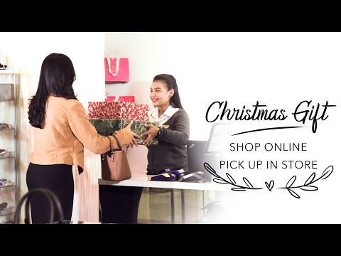 Christmas Gift: Shop Online Pick Up In Store