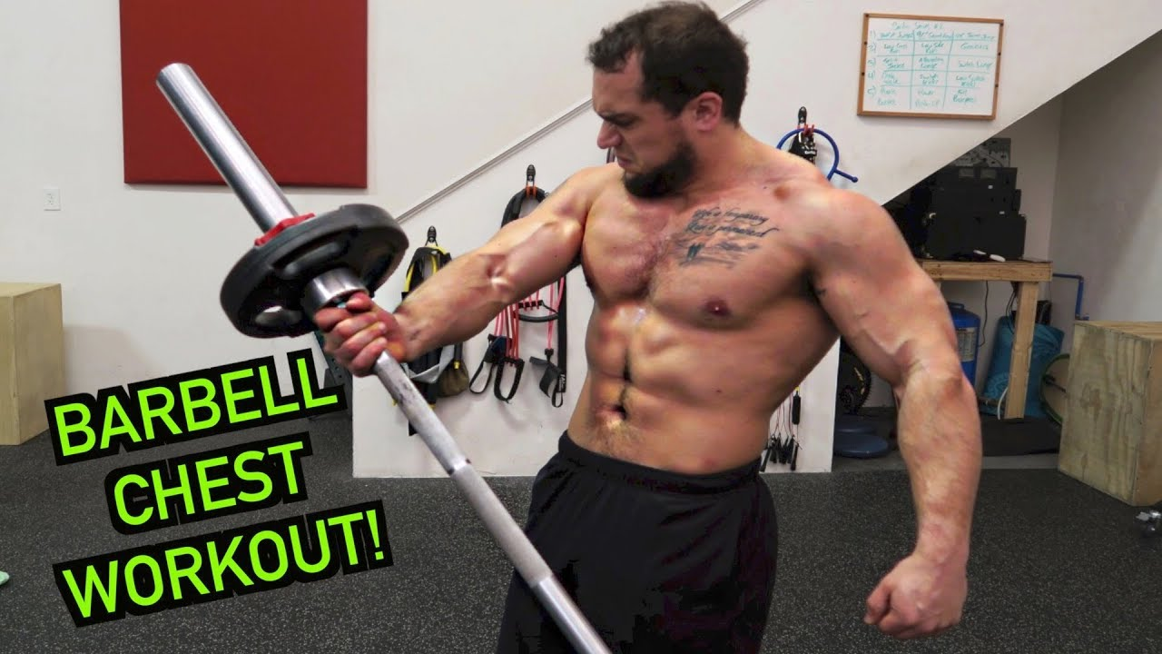 Intense 5 Minute Barbell Chest Workout