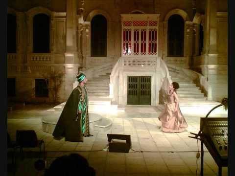 Mozart - Saraydan Kız Kaçırma operası Yıldız Sarayında