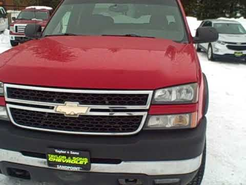 Marvelous 2006 Chevrolet Silverado 2500 At Taylor And Sons Chevrolet   Sandpoint Idaho