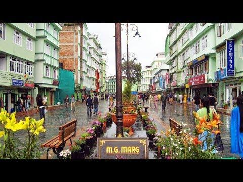 M G Marg Gangtok Sikkim - Day view