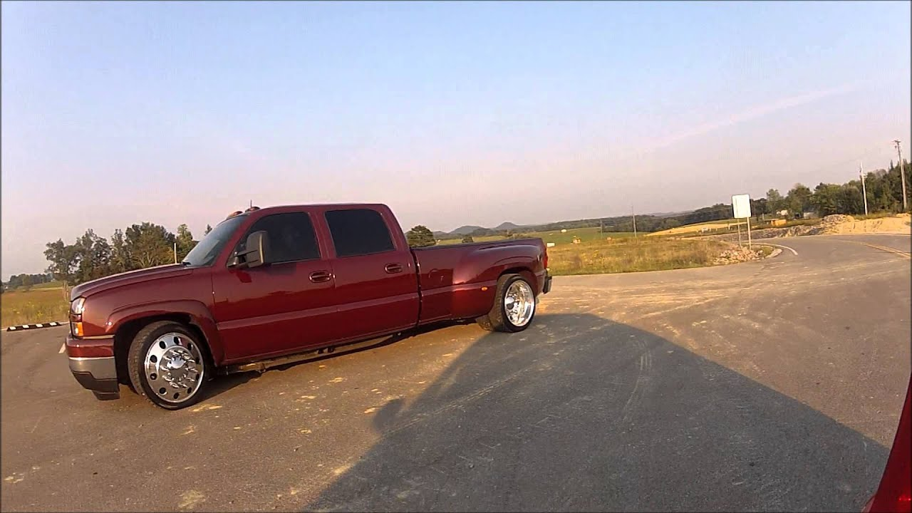 SLAMMED and SUPERCHARGED HOT ROD LOWERED CHEVY DUALLY TRUCK ~For Sale