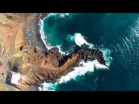 Beautiful aerial video of Canary Islands ( Tenerife & Lanzarote) in 4k