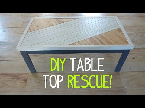 Fixing a Table Top Makeover Gone Wrong!
