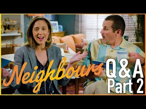 Eve Morey (Sonya Rebecchi) and Ryan Moloney (Toadie Rebecchi) Q & A - Part 2