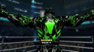 Живая сталь онлайн-Zeus X