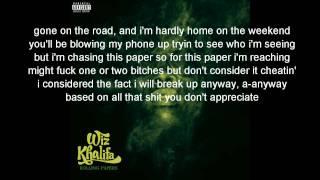 Wiz Khalifa - Get Your Shit (Lyrics On Screen!)