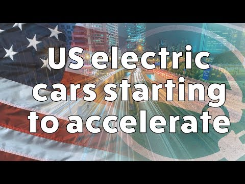 US Electric Cars Starting to Accelerate