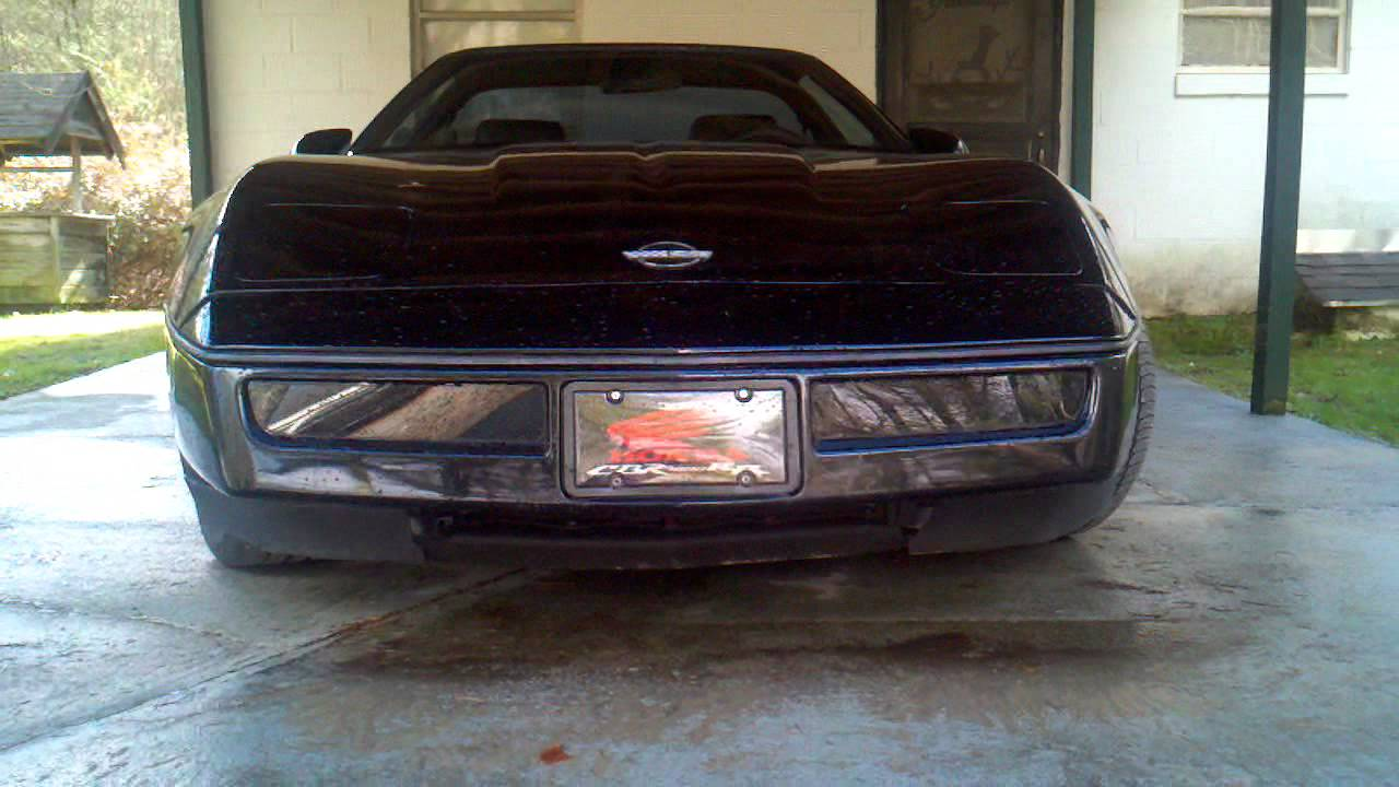 1989 Corvette Blackout Lights