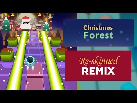 Rolling Sky - Christmas Forest Ft. Remix & Christmas level teaser | SHA