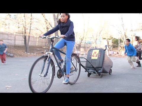 Kid Engineer: Bike Trailer   Design Squad Global