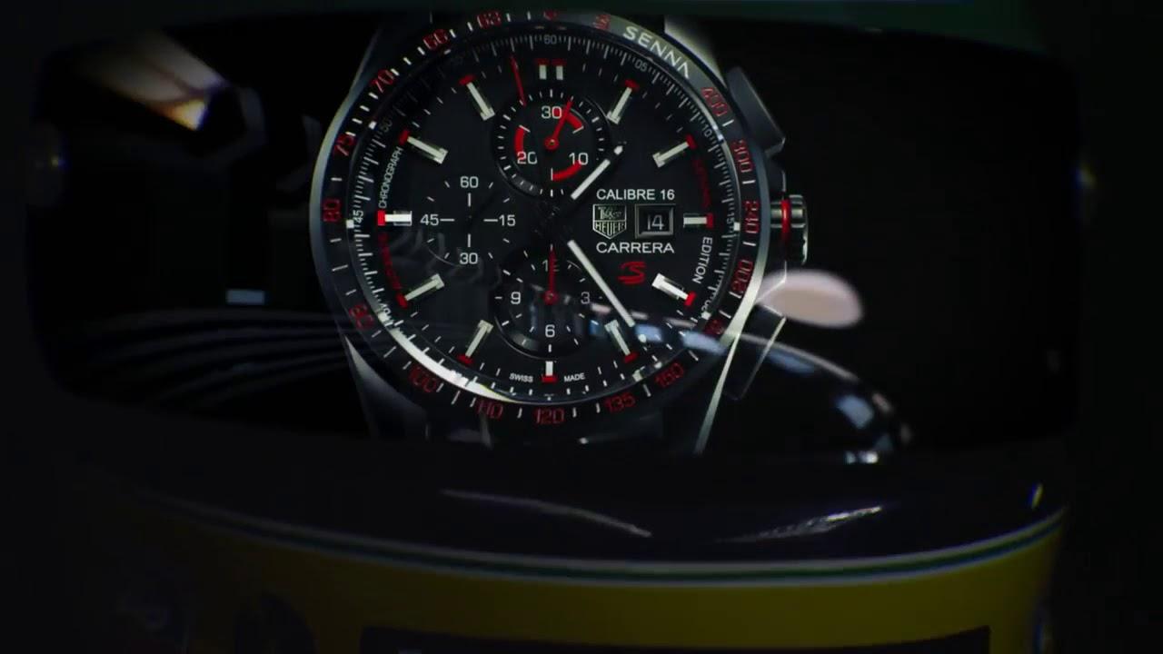 83beb8e1ad2 TAG Heuer - Ayrton Senna - YouTube