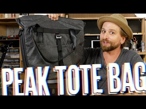 Peak Design Tote Bag Review #totes