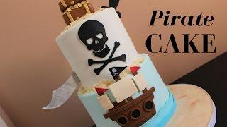 Pirate Treasure Cake Tutorial!