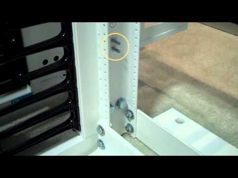 CPI Standard Two-Post Rack   Integrated Grounding Features