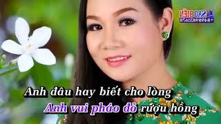 [Karaoke HD] Anh Đã Thay Lòng - Dương Hồng Loan