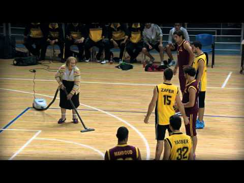 Arab Games Doha 2011 Ticketing Campaign --  Basketball